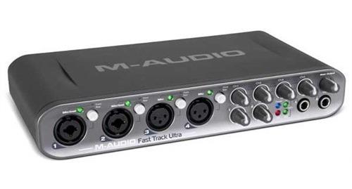 Placa De Audio Fast Track Ultra M-audio