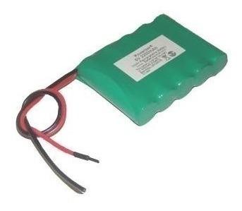 Bateria 6v 2700mah Aa Ni-mh Com Fio Terminal Recarregavel