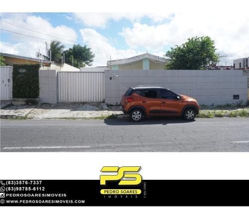 Imagem 1 de 13 de Casa Com 3 Dormitórios À Venda, 429 M² Por R$ 700.000 - Estados - João Pessoa/pb - Ca1106