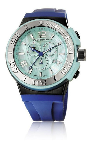 Relógio De Pulso Jean Vernier Cronógrafo Jv01106