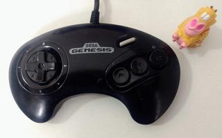 Control Original 3 Botones Sega Genesis * Mundo Abierto Vg *