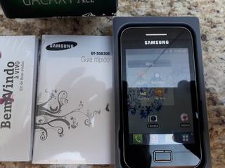 Celular Samsung Ace Seminovo Usado Poucas Vezes