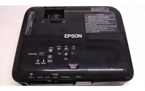 Projetor Epson 2800 Lumis