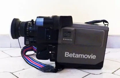 Cámara De Video Betamovie Sanyo