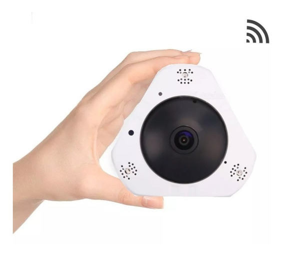 Camara Ip Wifi Inalambrica Seguridad Vr 360 Panoramica Hd