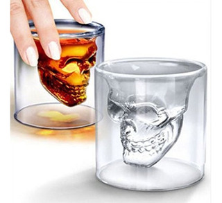 Doomed Shot De Cristal Craneo Calavera Bebidas 75ml 2.5 Oz