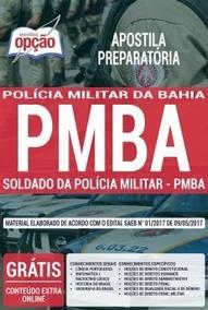 Apostila Preparatória Pm-ba 2019 - Soldado Pmba[cd De Brinde