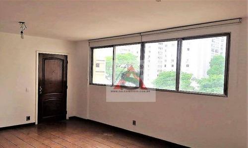 Apartamento Com 3 Dormitórios Para Alugar, 95 M² Por R$ 3.200,00/mês - Jardins - São Paulo/sp - Ap38234