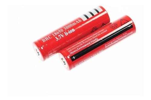 Baterias Recargables 18650 3000 Mah Linternas Laser Y Mas