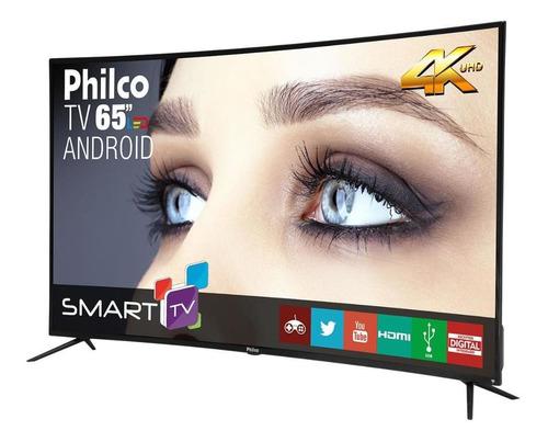 Imagem 1 de 4 de Tv Philco 65  4k Curve Ptv65a16sa Led 4k - Outlet