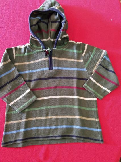 Sweater Niño Importado Con Capucha Gymboree 2 Años.
