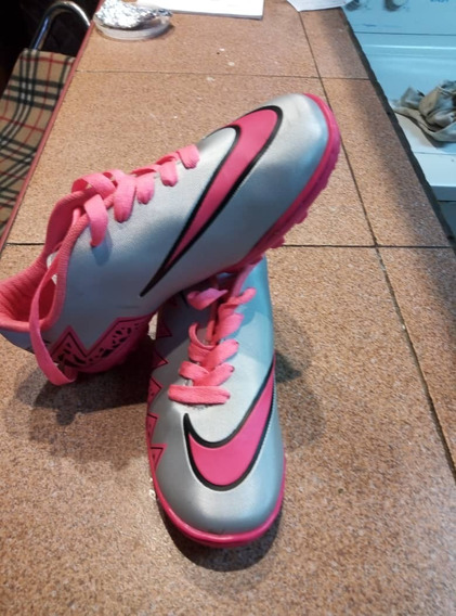 Zapatos Deportivos Futbol Nike Cr7 Talla 33 Niños