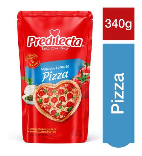 Molho De Tomate Pizza 340g Predilecta