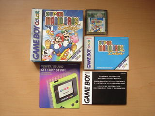 Super Mario Bros Deluxe Game Boy Color Completo - Rtg +++++