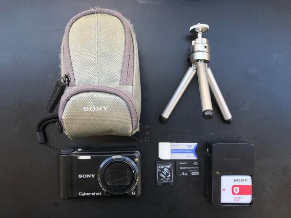 Câmera Sony Cyber Shot Dsc-h55 + Acessórios