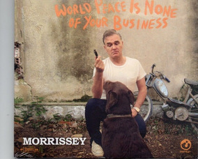 Morrissey Smiths World Peace Is None Of Your Busines Cd Novo