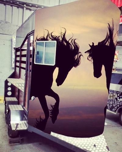 Carreta Para Cavalo (sob Encomenda)