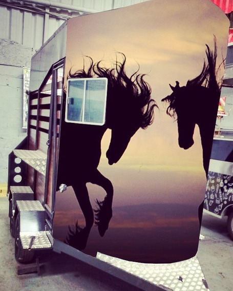 Carreta Para Cavalo
