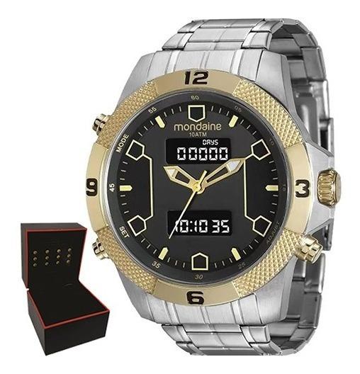 Relógio Mondaine Masculino Original Garantia Nf 99103gpmvba1