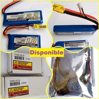Bateria Turnigy 2200mah 2s 30c Lipo Pack