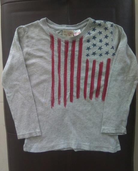 Camisa Zara Talla 24/36 Meses Niño