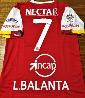 Camisa Independiente Santa Fe Liga Colombiana Completa