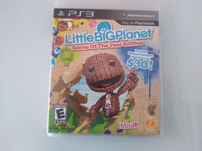 Jogo Ps3 - Little Big Planet Game Of The Year - Original