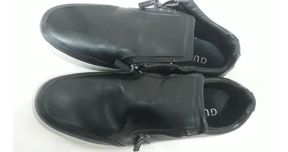 Zapatillas - Zapatos Con Cierres Cancheros Guess Caballero