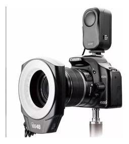 Flash Macro Ring Godox 48 Canon - Nikon Led Macro Odonto