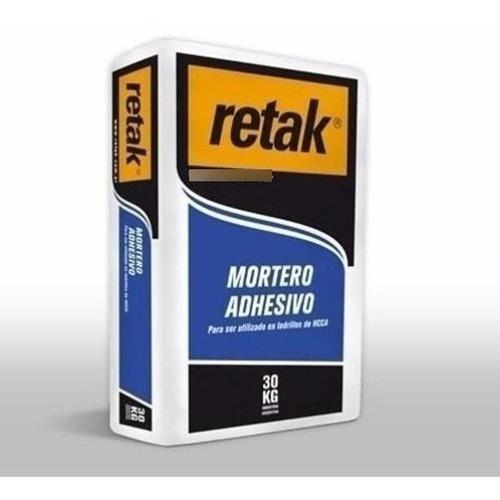 Imagen 1 de 3 de Retak Mortero Adhesivo X 30 Kg Proyectar Materiales