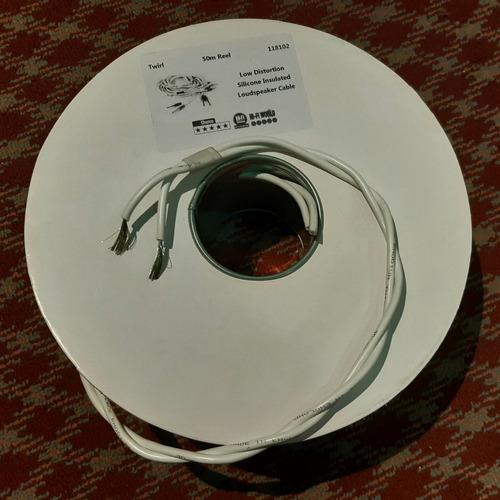 Cable Twirl Black Rhodium P/parlantes/línea 220v Garantia Wp