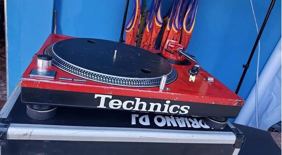 Toca Discos Sl 1200 Mk2 Technics + Shells + Serato Sl3!!!