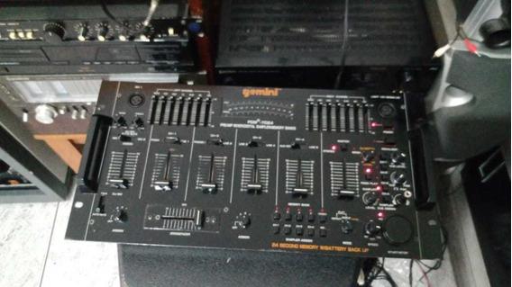 Mixer Gemini Pdm 7024 Pre Amplificado Mixer Digital Sampler