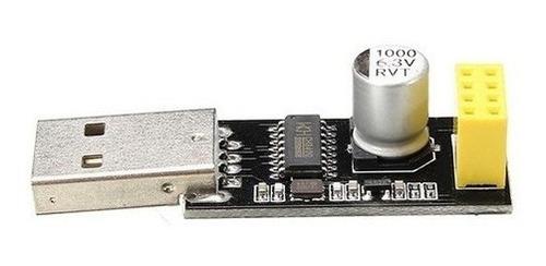 Imagem 1 de 3 de Adaptador Programador Usb Uart P/ Módulo Wifi Esp8266 Esp-01