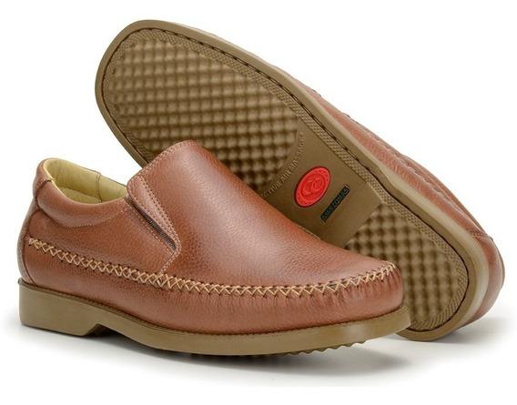 Sapato Masculino Mocassim Confortável Antistress Anatômico W