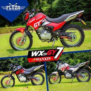 Moto Todo Terreno Wawanxin 200cc