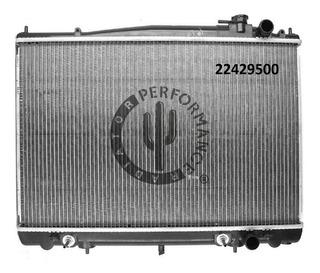 Radiador Agua Nissan Frontier 2.4 Gas. 1998-2004