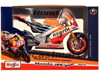 Moto Honda Repsol 2014 Marc Marquez Escala 1/10