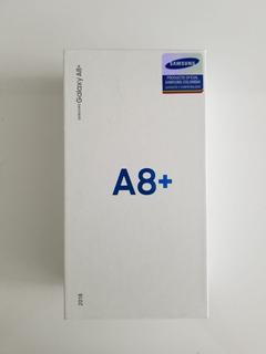 Celular Samsung A8 Plus 2018 64gb Mas Obsequios