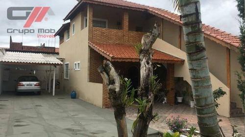 Imagem 1 de 11 de Sobrado Com 2 Dormitórios À Venda, 250 M² Por R$ 268.000 - Vale Das Flores - Tremembé/sp - So0052