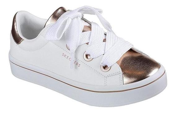 Tenis Skechers Medal Toes Blanco Niña - 84688lwtrg