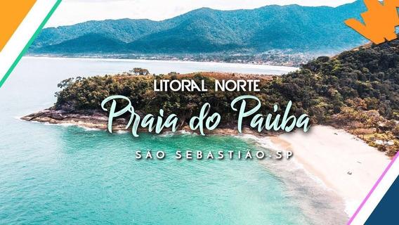 Terreno Pé Na Areia Com Escritura Definitiva Em Paúba - Te0322