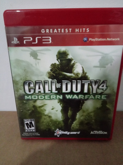 Activision Call Of Duty 4 Modern Warfare Sony Ps3