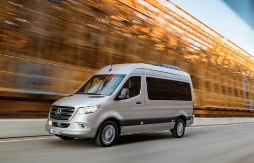 Imagen 1 de 12 de Mercedes-benz Sprinter 416 Cdi Combi 3665 9+1 Te Con Cámara