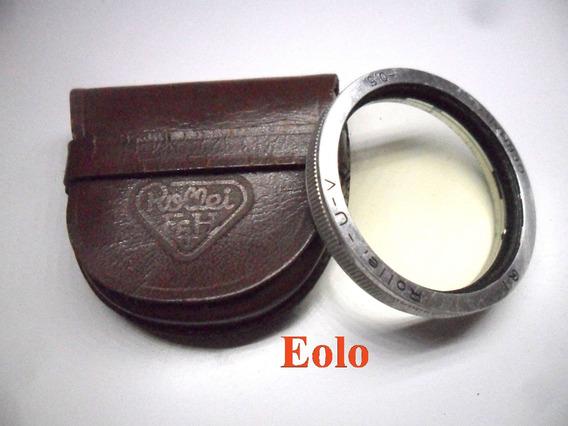 Rolleiflex Rollei Filtro Uv Bay 1 *proteje Lente E Raio Uv &