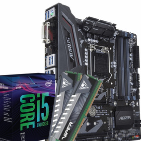 Kit Intel I5 8400 + Gigabyte Z370m Aorus Gaming + 16gb Ddr4