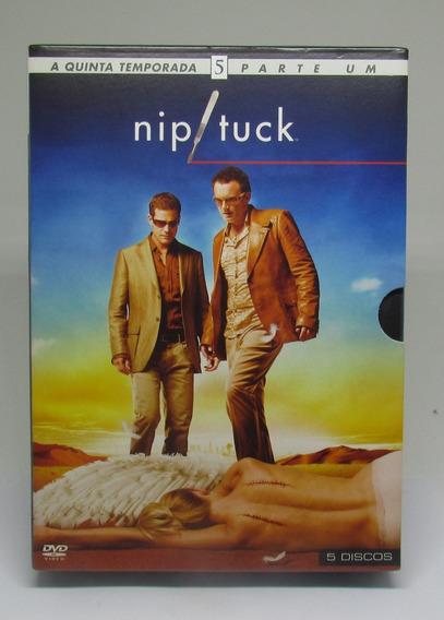Série Nip Tuck Ninguem É Perfeito - 5ª Temp Vol 1 - 5 Discos