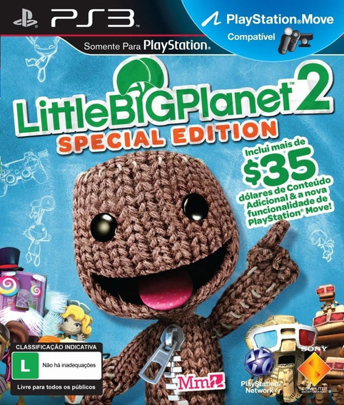 Little Big Planet 2 Special Edition! S/ Juros! Loja Campinas