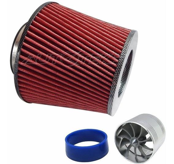 Filtro Aire Alto Flujo Spin Carbón + Tornado Turbo Twister