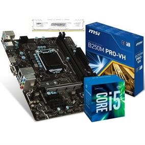 Kit Intel Core I5 7400 Mb B250m Pro 8gb Bls Ddr4 2400mhz